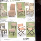 Simplicity Pattern 5952    Chair Covers  -  uncut
