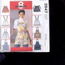 McCalls Pattern Fashion Accessories- 2947-  Misses Aprons  -uncut