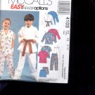 McCalls Pattern 4103 - Children's , boys, girls tops, etc- siz CL  6-8     uncut
