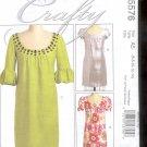 McCalls Pattern M5576 - Misses Dresses - size FF 16-22     uncut