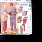 McCalls Pattern 3253 Misses, Mens Cardigan, top, pants-size Y- Sml-Large  uncut