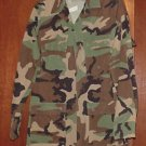 BDU's Woodland Camo Shirt-  Small- Long (# 44)