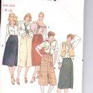 Butterick pattern 6345  Misses Skirt Size 6-8