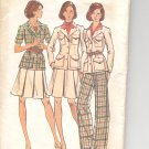 Butterick pattern 3582  Misses Jacket, skirt & Pants  Size 8