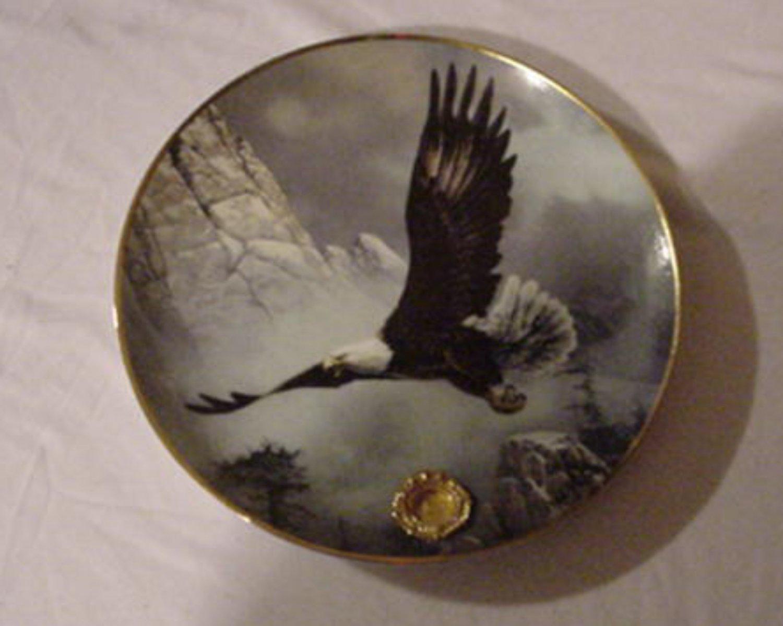 Alaska Chilkat Bald Eagle Preserve Franklin Mint Save the ...