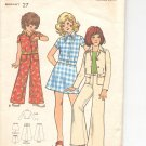 Butterick pattern  3096.- Childrens & Girls Top, skirt & Pants-  Size 8