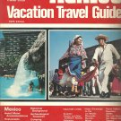 Mexico  Vacation Travel Guide -1979 edition