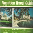 Southeast U.S.A. Vacation Travel Guide -1979 edition