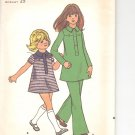 Butterick pattern  6162 Childrens & Girls dress and pants-  Size 6