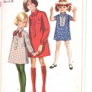 Simplicity pattern 7835  Childs and girls  Shirt- Dress   Size 6