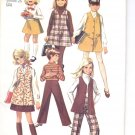 Simplicity pattern 8377  Childs and Girls Jumper or vest, skirt, pants-   Size 7