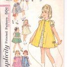 Simplicity pattern 5380  Childs  one piece dress and sleeveless coat-  Size 5