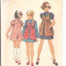 Simplicity pattern 5280  Girls Dress and smock   Size 8