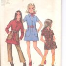 Simplicity pattern 5163   Childs and girls mini-dress and pants-   Size 8