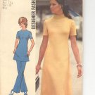 Simplicity pattern 9761   Misses  Dress  or tunic and pants-  Size  8