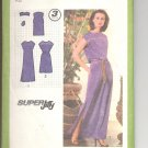 Simplicity pattern 9033   Misses   Pullover dress in two lengths -  Size  8