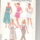 Simplicity pattern 7950  Misses Dress and Jumpsuit-  Size H (6-8-10)