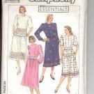 Simplicity pattern 9310  Misses /Miss Petite two-piece dress -  Size HH (6-12)
