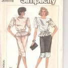 Simplicity pattern  7893  Misses /Miss Petite two-piece dress -  Size HH (6-12)