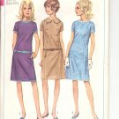 Simplicity pattern 6722   Junior and Misses one piece dress -  Size  11