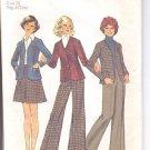 Simplicity pattern 6619   Young Jr. /Teens   cardigan, skirt , pants-  Size  5/6