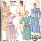 McCalls  pattern 3331  Misses  Dress -  Size B 8-10-12