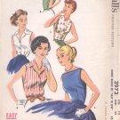 McCalls  pattern 3973  Misses Blouse.  -  Size 12