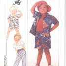 Simplicity pattern 9498 Girls  Shirt, pants, shorts   Size A- all sizes included