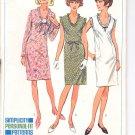 Simplicity pattern 6494   Misses one-piece dress-  Size  12