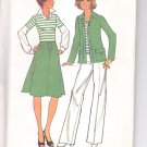 Simplicity pattern 7450    Misses    Jacket, top, skirt and pants-  Size  10