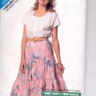 Butterick pattern  6400   Misses  Top & Skirt- Size A 6-8-10-12-14