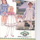 Butterick pattern  3086.- Childrens and Cabbage Patch Kids  Dress-  Size 2-3-4