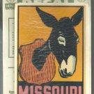 Vintage style Decal Sticker-  Missouri- NOS