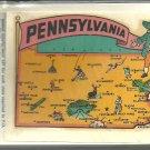 Vintage style Decal Sticker -Pennsylvania Vintage