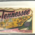 Vintage style Decal Sticker - Tennessee- Land of the Great Smokies Vintage
