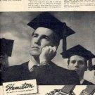 1946  Hamilton watch ad (#  2174)