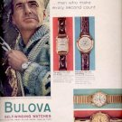 1959  Bulova self-winding watches    ad (#5566)