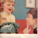 1957   Bell Telephone System  ad (# 4634)