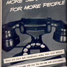 Jan. 10, 1938  Bell Telephone System     ad  (#6428)