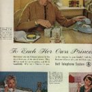 1961  Bell Telephone System ad (#1298)