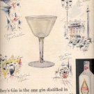1957    Gilbey's Gin   ad (# 4700)