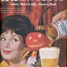 1960    Budweiser Beer  ad (# 4546)