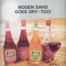Nov. 19, 1966      Morgan David Dry Wines     ad  (#1181)