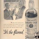 Oct. 25, 1937    Teachers Highland Cream Scotch Whisky   ad  (#6500)