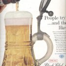 1960 Carling Black Label Beer   ad (#5452)