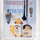 October 1, 1963 Jim  Beam- the world's Finest Bourbon since 1795 ad (# 205)
