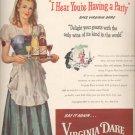 March 3, 1947  Virginia Dare Wine  ad (#6147)
