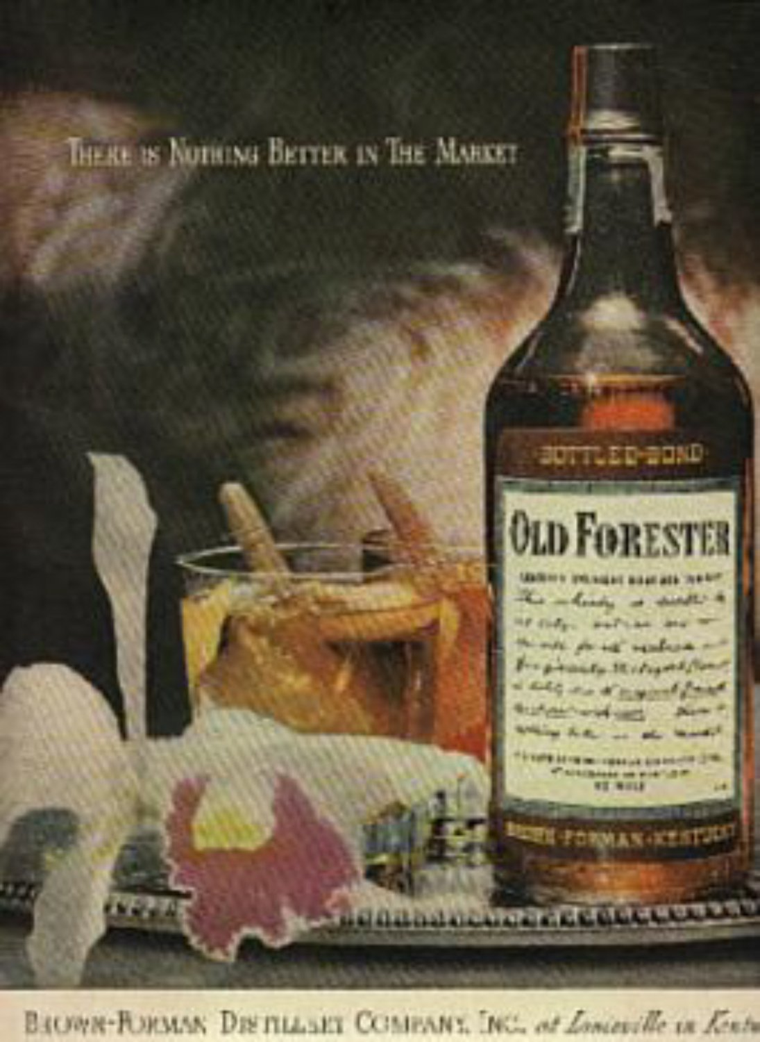 1946 Old Forester  magazine    ad (# 484)