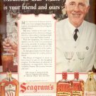 Oct. 30, 1939    Seagram's Whiskey and Gin  ad (#6070)