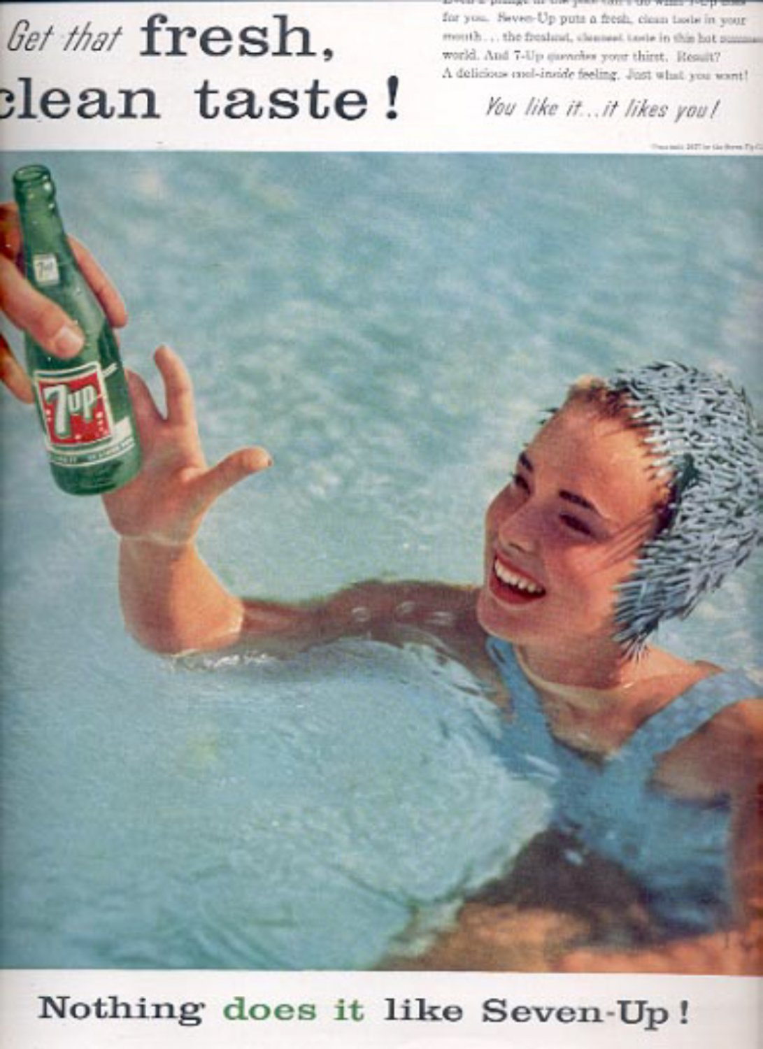 1957  Nothing does it like Seven-Up!  ad (# 4934)